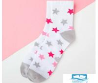 Носки детские KAFTAN Звёзды р-р 16-18, белый   4531869
