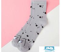 Носки детские KAFTAN Кошка р-р 18-20, серый   4531858