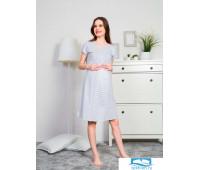 911041 0000 Туника для беременных Загадка серый XL