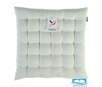 Подушка на стул мятного цвета из коллекции Wild, 40х40 см