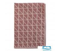 Полотенце кухонное с принтом Twist бордового цвета Cuts&Pieces