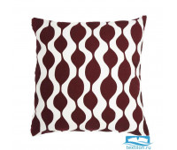 Чехол для подушки Traffic, бордового цвета Cuts&Pieces