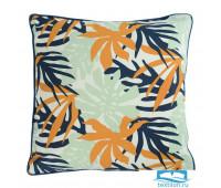 Чехол для подушки с дизайнерским принтом Leaves из коллекции