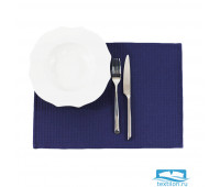Салфетка сервировочная Daribo SuperWaffle Royal Blue 30х45 см