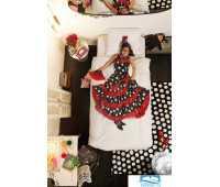 Комплект постельного белья Фламенко150х200