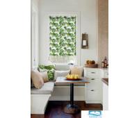 Рулонная штора, Флавора, зеленый, 120*160 см, 55680120160