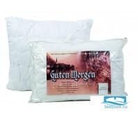 Подушка микрофибра белая стеганая/чемодан/ 70х70