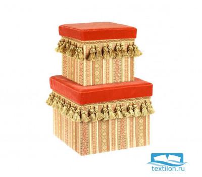 3472-739719 Kedleston Коробочки квадратные набор 2 предмета Д25