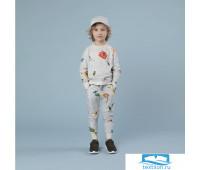 Вязанные цветы Свитер и штаны Дети 140