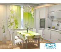 Фотоскатерть для кухни Белые лилии 145х200 см