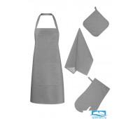 НКСЕР-18-20-40-60-2 Набор кухонный цвет: Серый рогожка