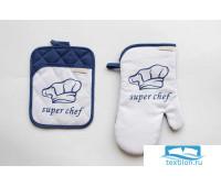 НК-Ш-4 Набор для кухни Chef (голубой)