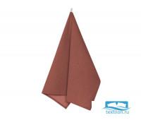 Пр-Кор-45-60 Полотенце рогожка цвет: Коричневый 45х60 см
