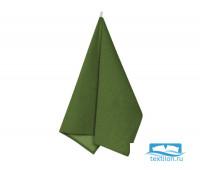 Пр-Зел-45-60 Полотенце рогожка цвет: Зеленый 45х60 см