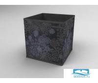 939 Коробка - куб (жёсткий) 27х27х27см