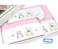 Набор полотенец 'LAMITE MAYER' розовый (3шт) (Maison Dor)