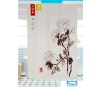 Фотоштора для ванной (джордан 180х200 см - 1 шт) Хризантема 2