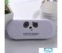TR-BF10129/WHITE Футляр для очков «3 Little Bear» белый