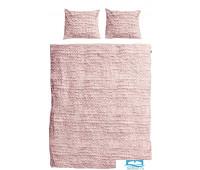 Комплект постельного белья Косичка розовый Фланел2 200х220