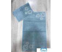 Набор ковриков для ванной с аппликацией Карвен 'YAPRAK' KV 201