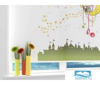 Рулонная штора ''Сказочный сон'' Ширина: 110 см. Высота: 190