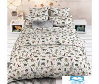Постельное белье в детскую кроватку 7331/1 Дино