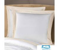 ЭДЕМ бел/экру к-т наволочек 70х70-2, 2пр, бамбук. волокно