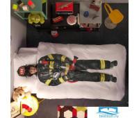 Комплект постельного белья Пожарный 150х200