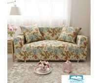 ЧХТР071-17712-СД Чехол на диван 3х мест Трикотаж 195-230 см