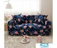 ЧХТР071-17804-СД Чехол на диван 3х мест Трикотаж 195-230 см