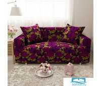 ЧХТР071-17814-СД Чехол на диван 3х мест Трикотаж 195-230 см