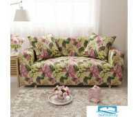 ЧХТР071-17821-СД Чехол на диван 3х мест Трикотаж 195-230 см