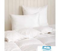 Чехол для подушки  защитный , сатин, р-р: 70x70см, цвет: белый