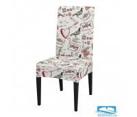 ЧХТР080-03938 Чехол на стул, универсальный, софттач, 40 см.