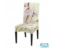 ЧХТР080-12587 Чехол на стул, универсальный, софттач, 40 см.