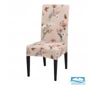 ЧХТР080-14637 Чехол на стул, универсальный, софттач, 40 см.