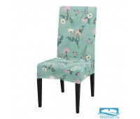 ЧХТР080-14638 Чехол на стул, универсальный, софттач, 40 см.