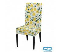 ЧХТР080-15647 Чехол на стул, универсальный, софттач, 40 см.