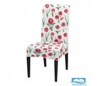 ЧХТР080-16805 Чехол на стул, универсальный, софттач, 40 см.