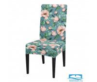 ЧХТР080-16862 Чехол на стул, универсальный, софттач, 40 см.