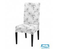 ЧХТР080-17934 Чехол на стул, универсальный, софттач, 40 см.