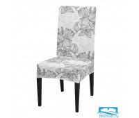ЧХТР080-18063 Чехол на стул, универсальный, софттач, 40 см.