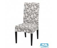 ЧХТР080-18089 Чехол на стул, универсальный, софттач, 40 см.