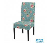 ЧХТР080-18239 Чехол на стул, универсальный, софттач, 40 см.