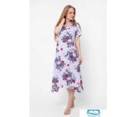 Платье ПТК-433 5024 (Пастельно-синий) 52