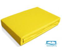 Пододеяльник трикотажный 'Джерси' 110x140 (желтый №1014)