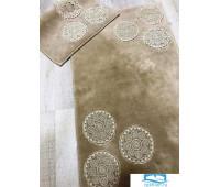 Набор ковриков для ванной с аппликацией Карвен 'ETHNIC' KV 203