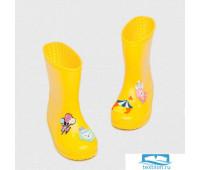DD-DH-004/2 Резиновые сапоги детские «Цирк» желтые 23