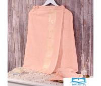 Полотенце для сауны с вышивкой + шапочка,Dome,Harmonika,70*140