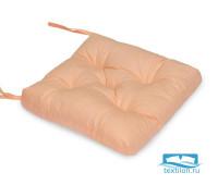 Подушка для стула 35*35 бязь (персик) (отгружается по 2 шт.)